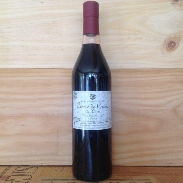 Edmond Briottet Creme de Cassis, Dijon 700ml