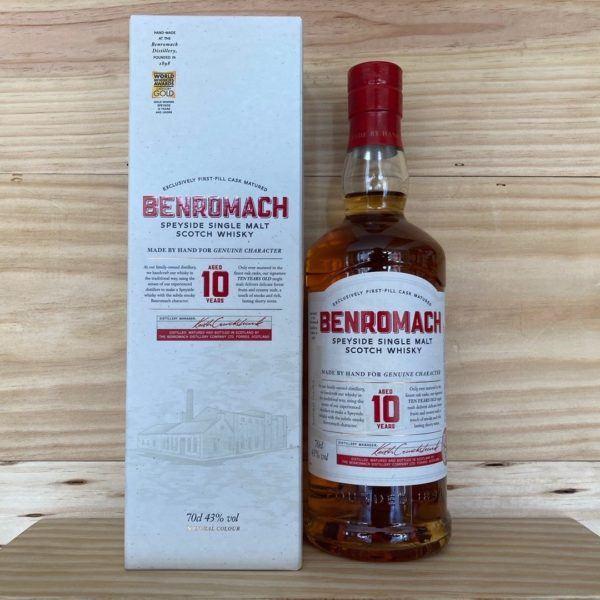Benromach 10 Year Old Single Malt Whisky