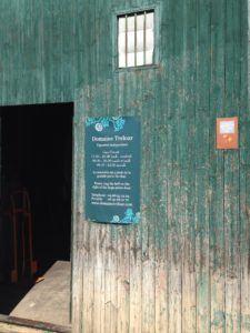 Cellar door of Domaine Treloar