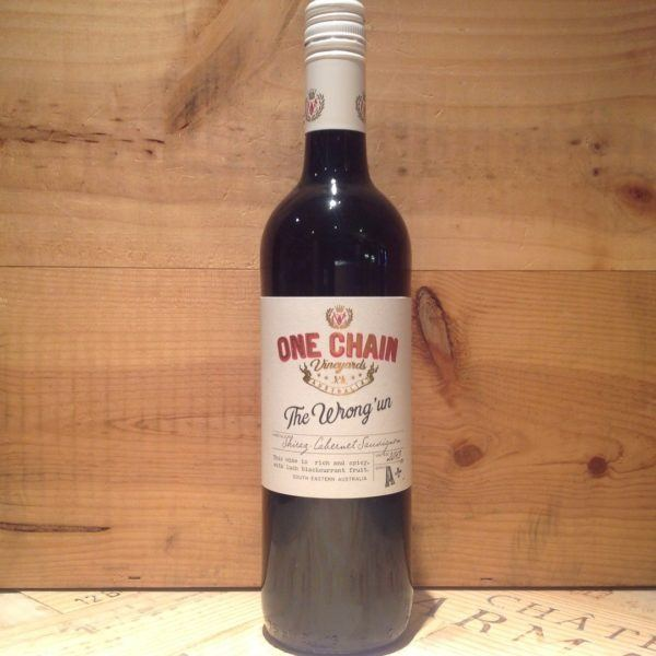 One Chain Vineyards, 'The Wrong Un' Shiraz/Cabernet, 2017