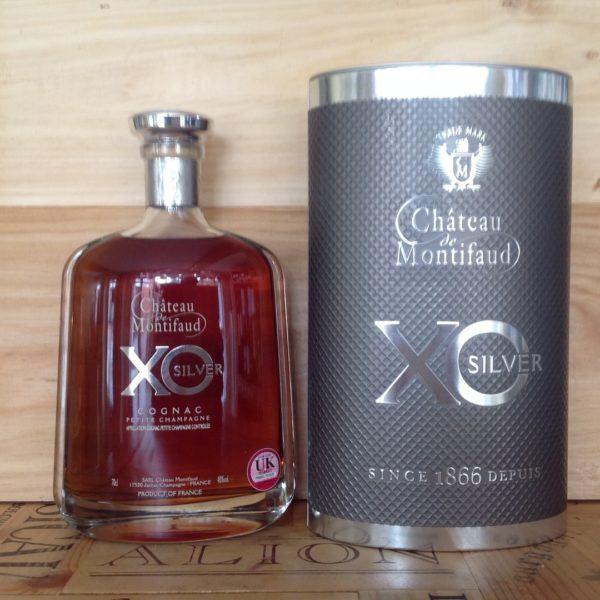 Chateau de Montifaud X.O. Silver Cognac Petite Champagne