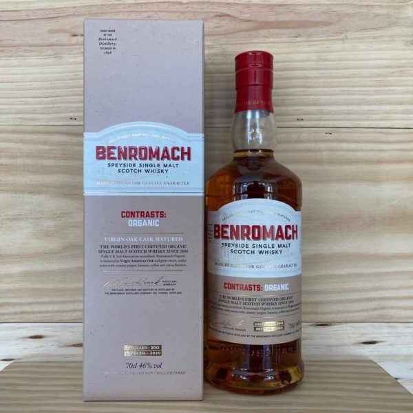 Benromach Contrast: Organic Speyside Single Malt