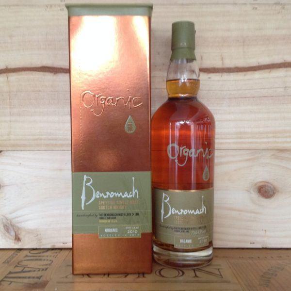 Benromach Organic Speyside Whisky