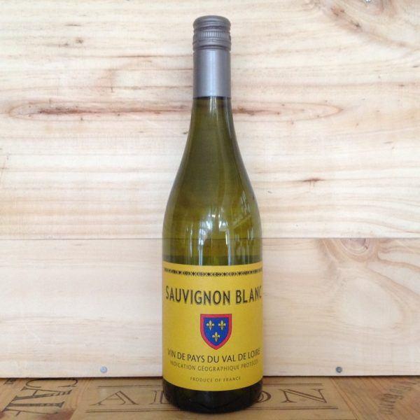 Blason Sauvignon Blanc Vin de Pays du Val de Loire
