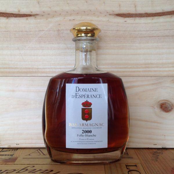 Domaine d'Esperance Bas Armagnac 2000, Folle-Blanche Carafe, 700ml