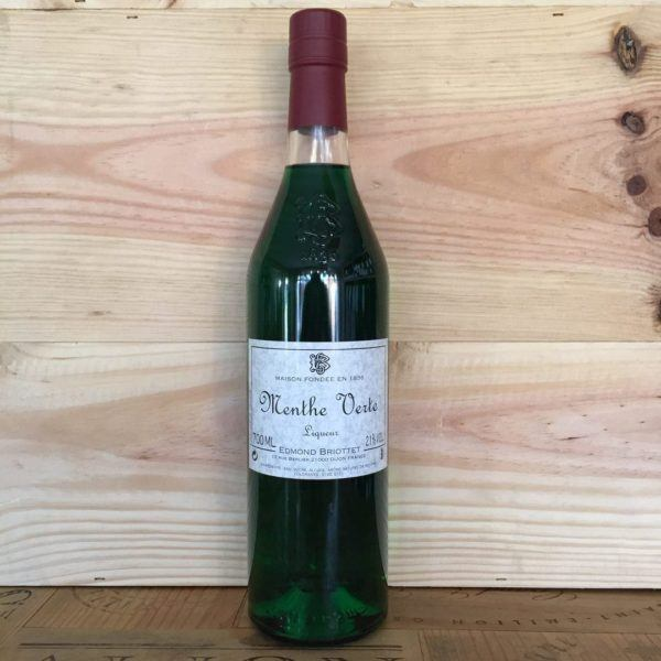 Edmond Briottet Menthe Verte Liqueur, Dijon, 700ml