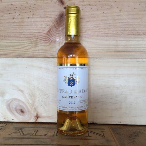 Chateau Briatte, Sauternes, 2014, 375ml
