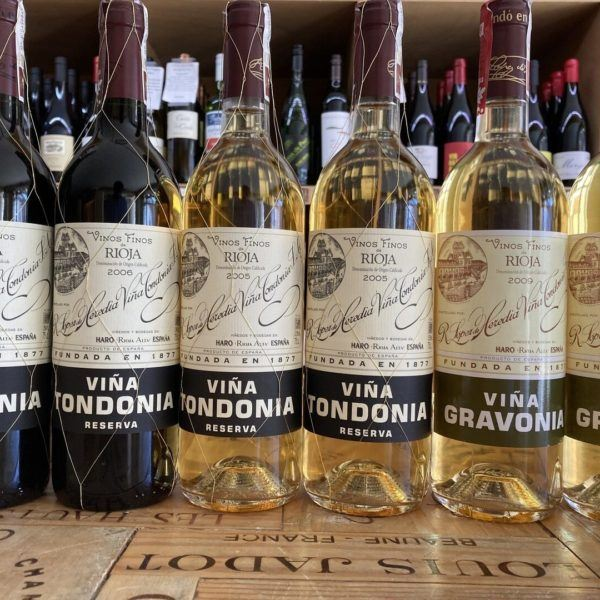 Lopez De Heredia Tondonia and Gravonia Rioja Case