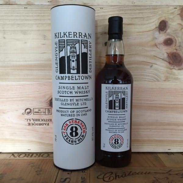Kilkerran Cask Strength 8 Years Old, Campbeltown Single Malt