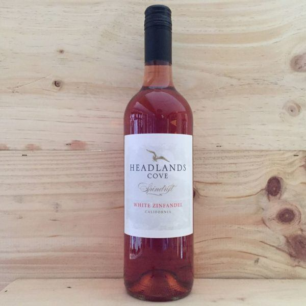 Headlands Cove White Zinfandel 2017, California