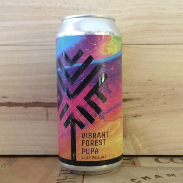 Vibrant Forest Pupa Juicy Pale Ale 440ml