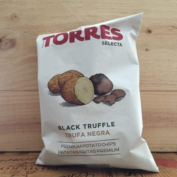 Torres Selecta Black Truffle Premium Potato Crisps 125g