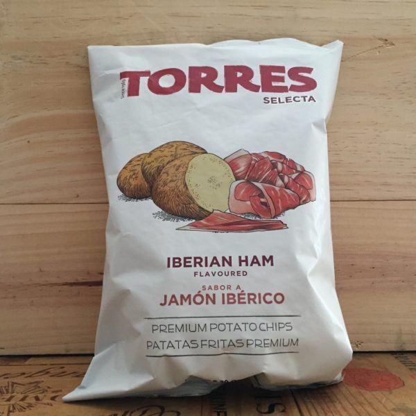 Torres Selecta Iberian Ham Premium Potato Crisps 150g