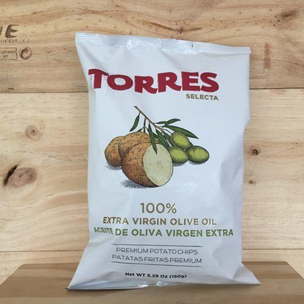 Torres Extra Virgin Olive Oil Crisps 150g