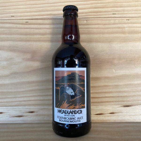Southbourne Ales 'Headlander' Bitter 500ml