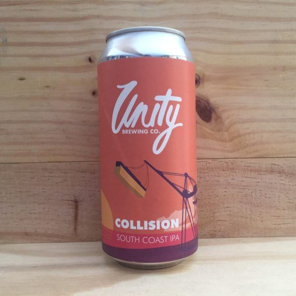 Unity Brewing Co. Collision South Coast IPA 440ml