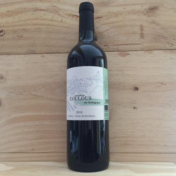 Les Vignes de Coulous 2018 Cadillac, Côtes de Bordeaux