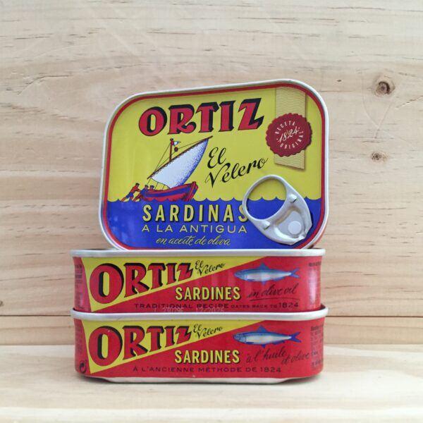 Ortiz El Velero Sardines in Olive Oil 100 gram