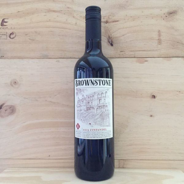Brownstone Zinfandel 2015, California