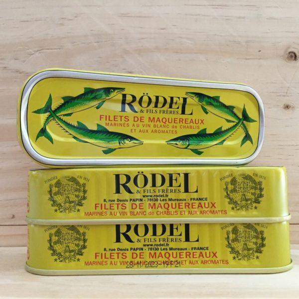 Rödel & Fils Frères Filets de Maquereaux 176g
