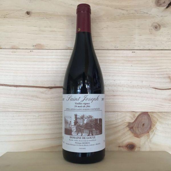 Domaine de Gouye Vieilles vignes 24 mois de fûts Saint Joseph 2017