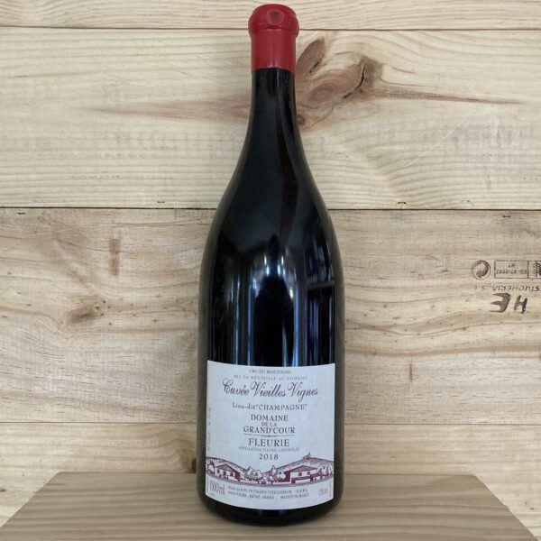 """Dutraive Domaine de La Grand Cour Lieu-dit """"Champagne"""" Fleurie 2018, Magnum"""