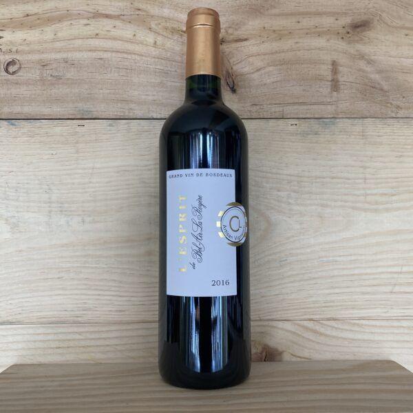 L'Esprit de Bel-Air La Royère Blaye 2016 Côtes de Bordeaux
