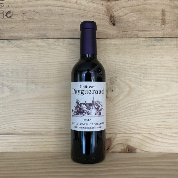 Chateau Puygeraud 2015 Francs Cotes de Bordeaux 375ml