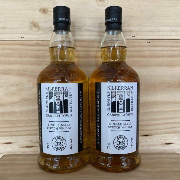 Kilkerran 16 Year Old Single Malt Whisky 2021 Release Twin Pack