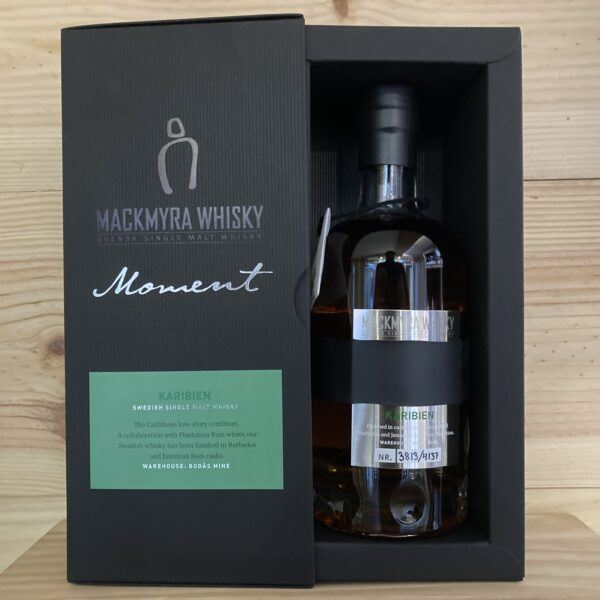Mackmyra Moment Karibien Swedish Single Malt Whisky