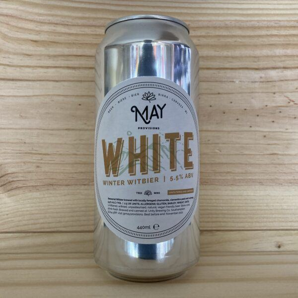 May Provisions White Winter Witbier 440ml