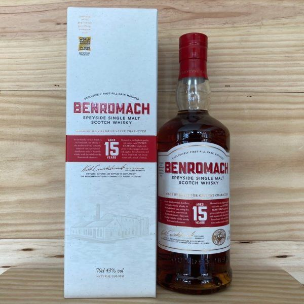 Benromach 15 Year old Speyside Whisky