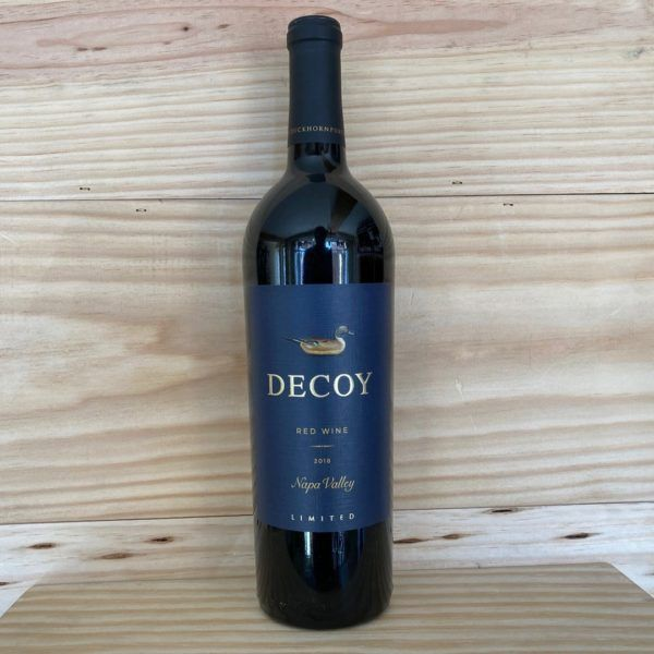 Decoy Blue Label Limited Napa Valley 2018