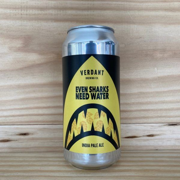 Verdant 'Even Sharks Need Water' IPA 440ml