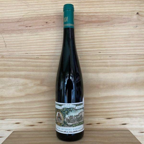 Maximin Grünhäuser Abtsberg Riesling Kabinett Nr.19 2016 Auction Bottling