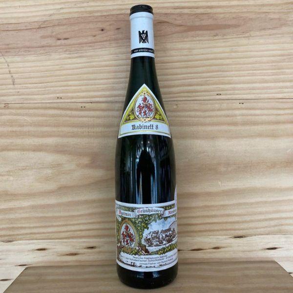 Von Schubert Maximin Grünhäuser Abtsberg Riesling Kabinett 8 2015 Auction Bottling