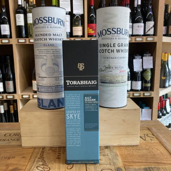 Torabhaig The Legacy Series Allt Gleann Whisky Triple Pack
