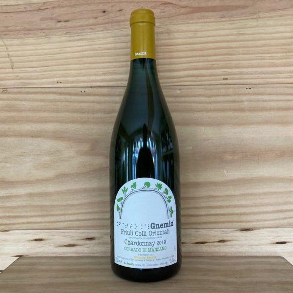 Gnemiz Chardonnay Corrado di Manzano 2019 Friuli Colli Orientali