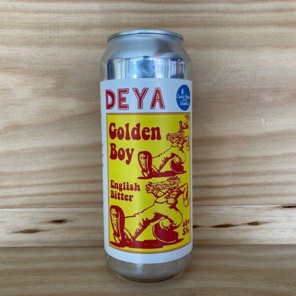 Deya X Saint Mars of the Desert 'Golden Boy' English Bitter