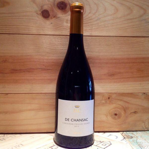 De Chansac Carignan Veilles Vignes, 2016